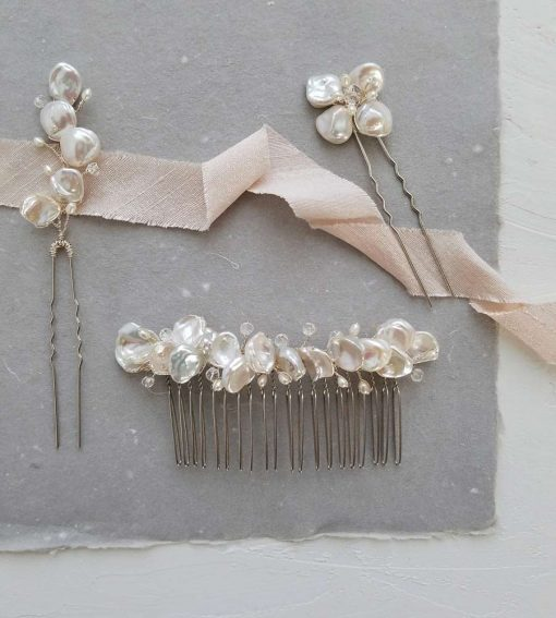 Entwined hair accessories collection from Carrie Whelan Designs