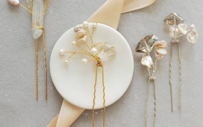 Whimsical Garden Inspired Hair Accessories