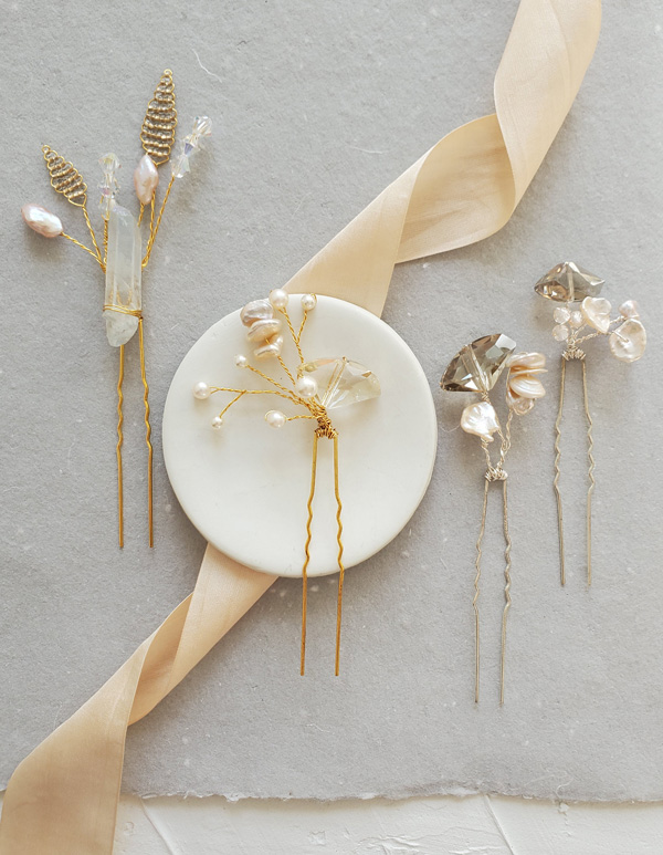 Whimsical hair accessories handmade by Carrie Whelan Designs
